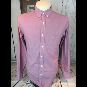 J. Crew Long Sleeve Button Down Shirt Size Large
